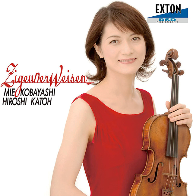 Zigeunerweisen -Masterpieces of violin music-